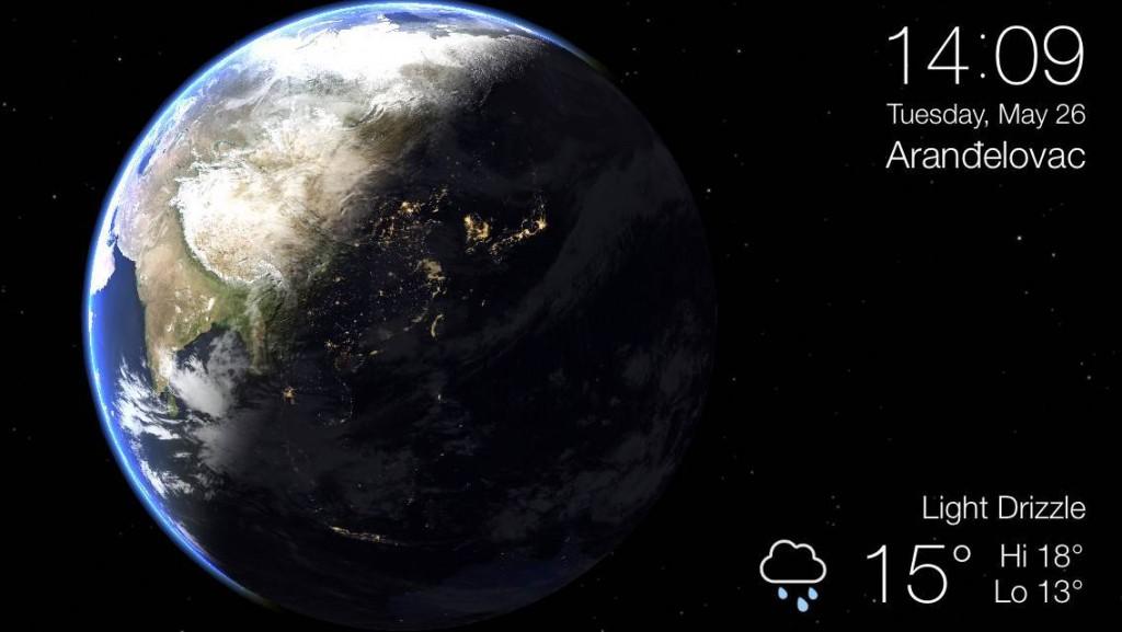 Living Earth aplikacija