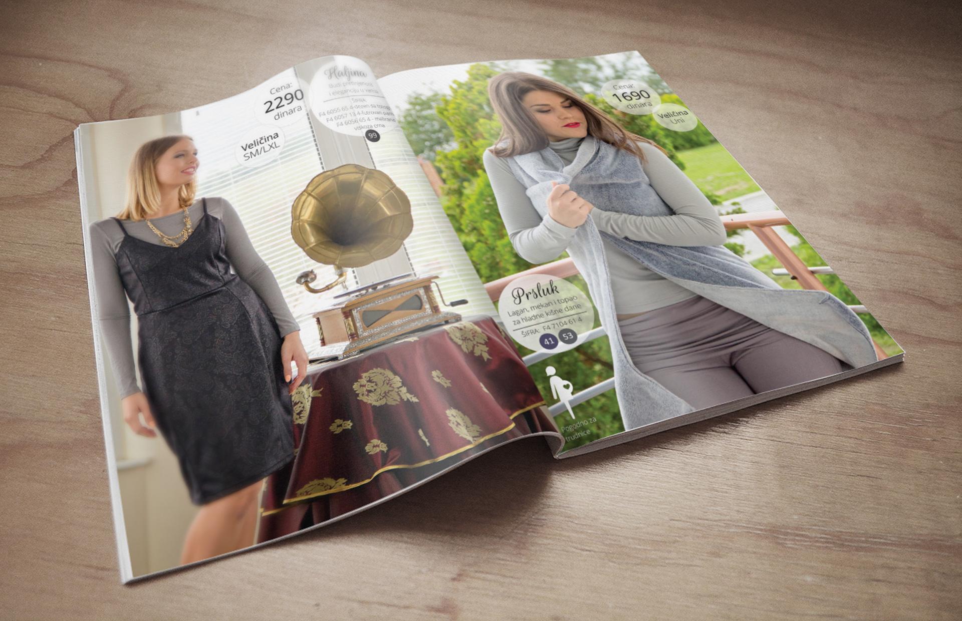 Katalog za NO-NO Factory za jesen/zimu 2014 unutrašnje strane