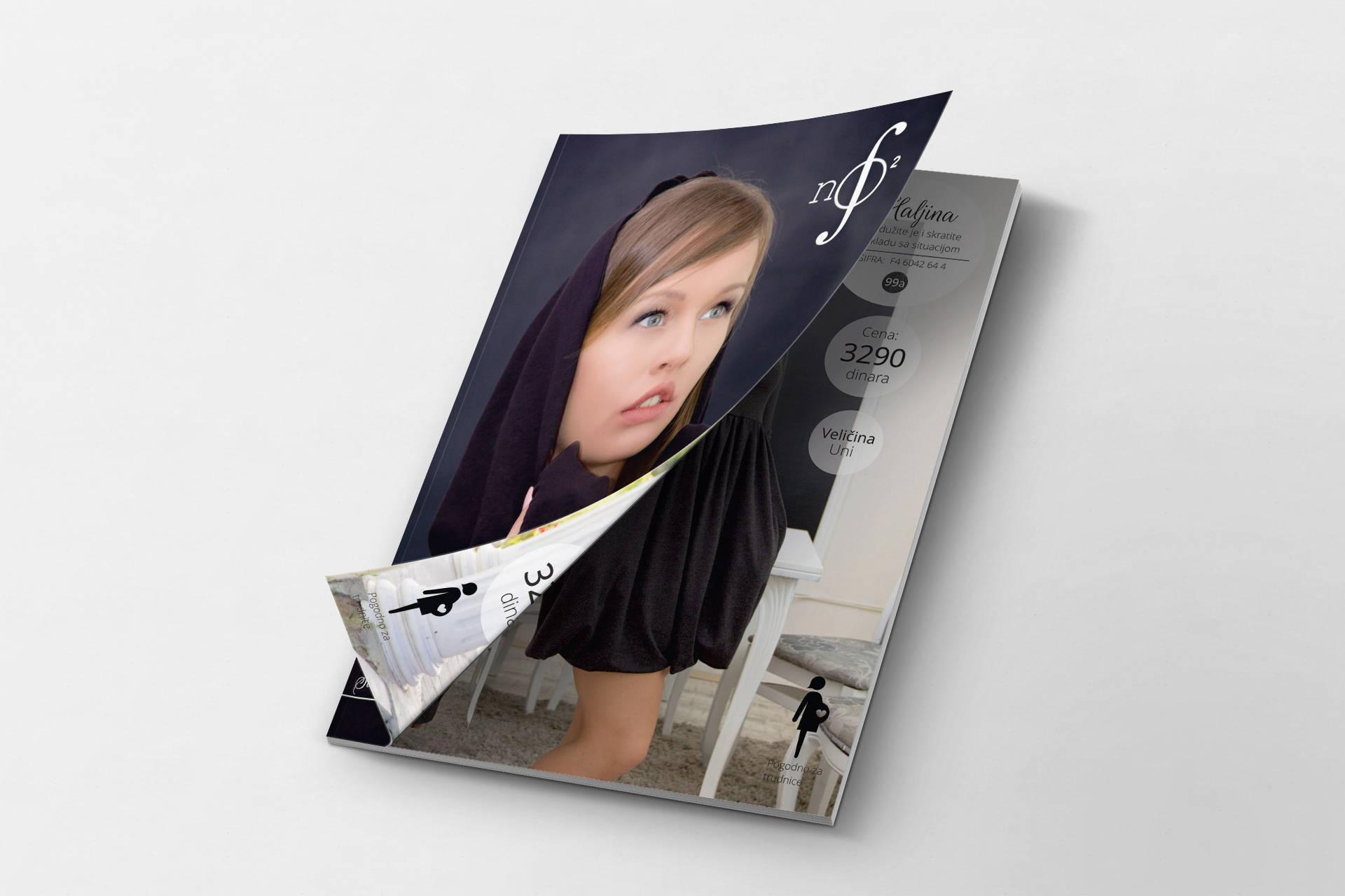 Katalog za NO-NO Factory za jesen/zimu 2015 unutrašnje strane