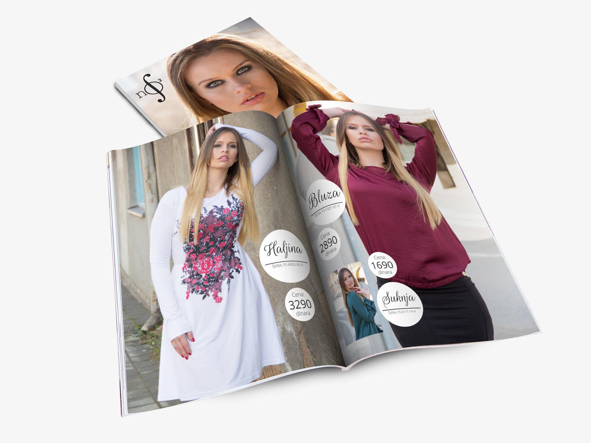 Katalog za NO-NO Factory za proleće 2015 unutrašnje strane