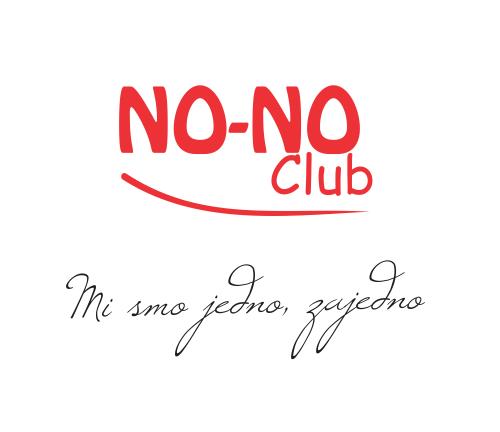 Logo i slogan NO-NO Club-a