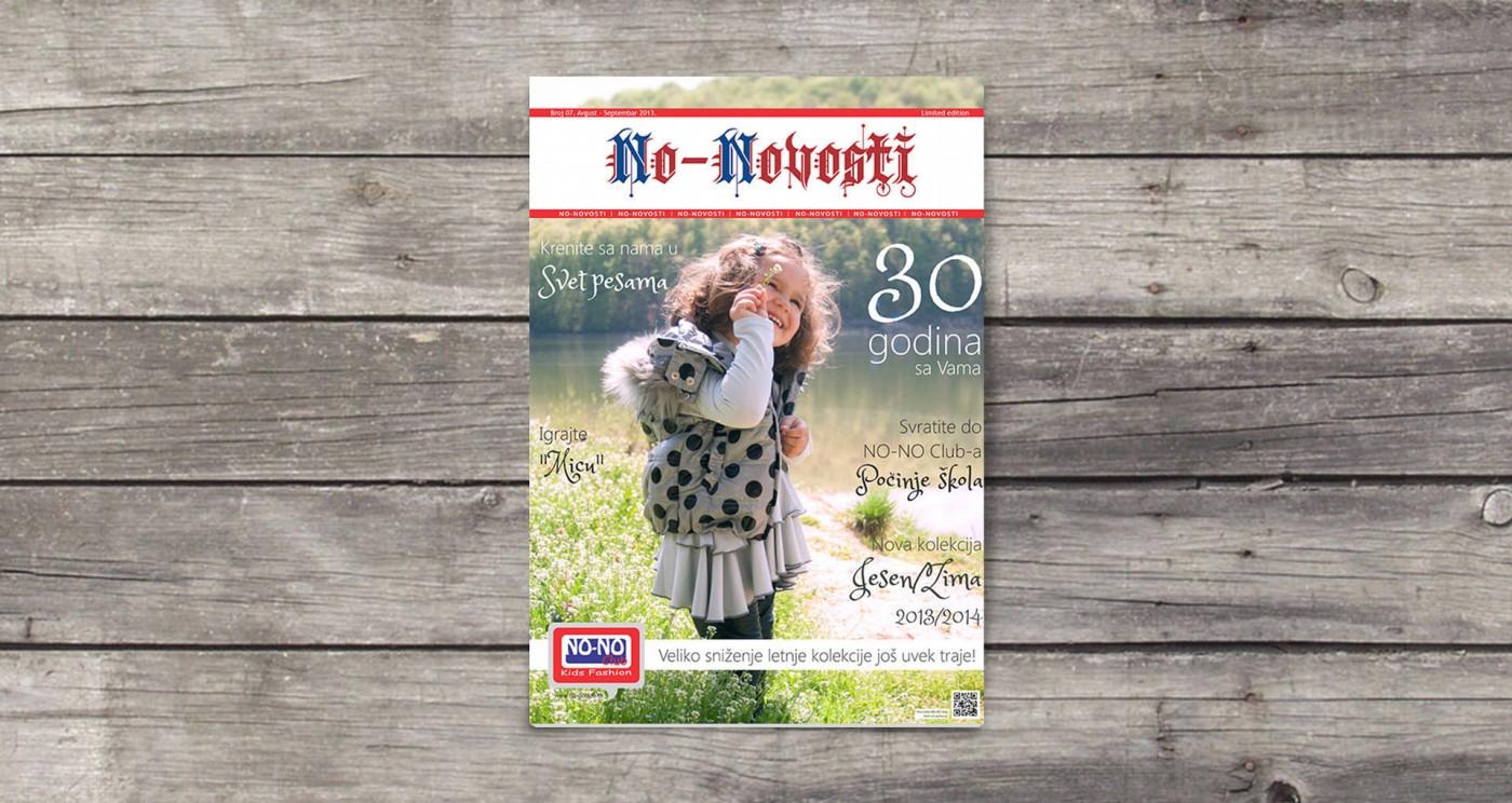 Mesečni magazin NO-NO Club-a pod nazivom No-Novosti