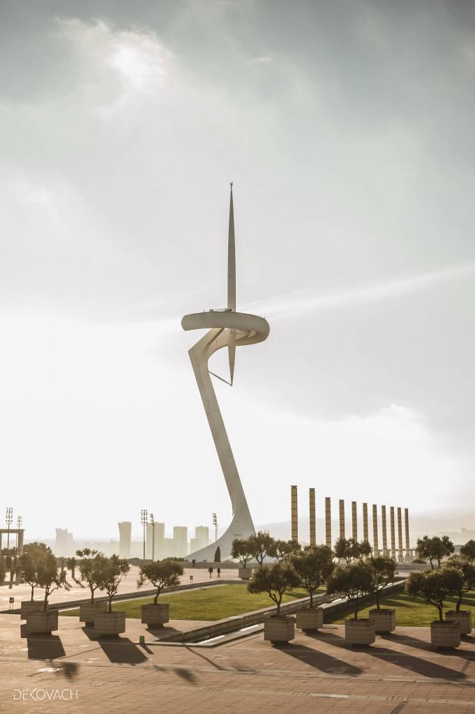 Nagrađena fotografija televizijskog tornja u Barseloni - TV tower
