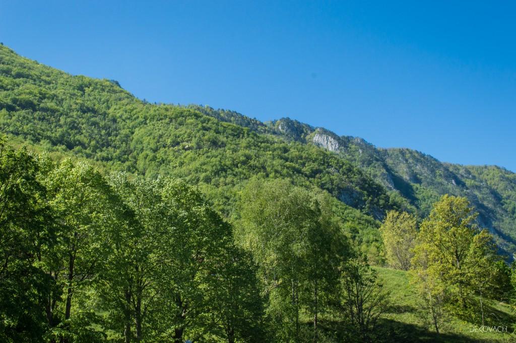 Pogled na planine nadomak Perućca