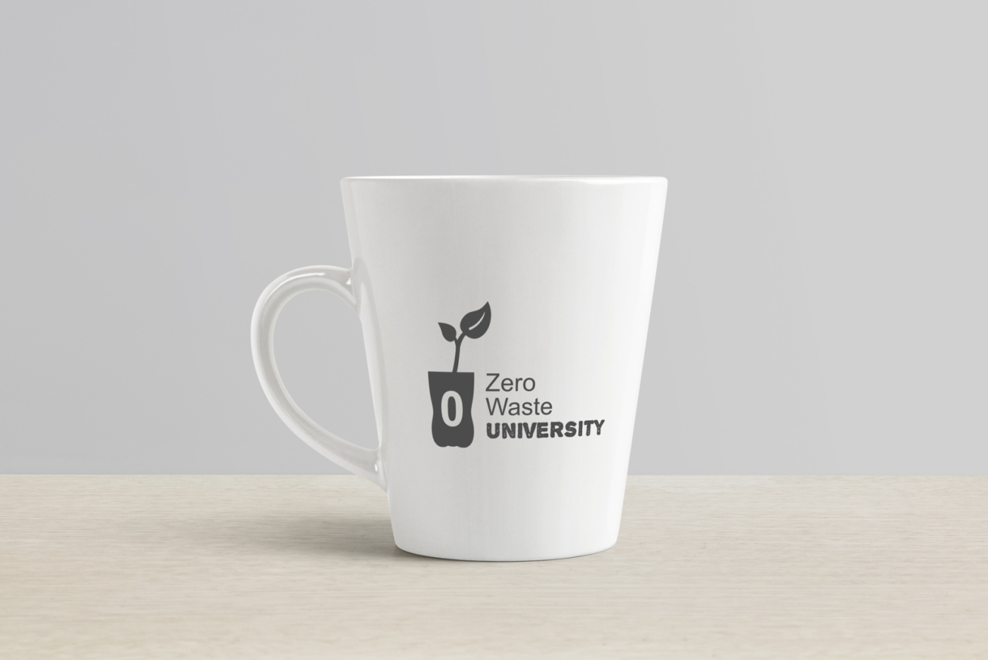 Logo projekta Zero Waste University